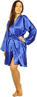 Women's Satin Charmeuse Robes, Style#Gwn-11