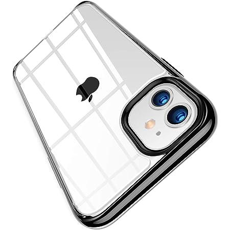 TORRAS iPhone 11 用ケース 2021最新型 高透明 米軍MIL規格取得 超高耐衝撃 SGS認証 非ニュートン流体 黄ばみなし レンズ保護 滑り防止 6.1インチ アイフォン 11用カバー ブラック