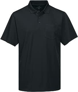 Tri-Mountain Men's 5 oz Moisture Wicking Polyester Shirt w/Pocket