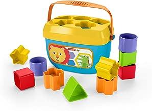 Fisher-Price - Bloques Infantiles, Juguete Bloques Construcción para Bebé +6 Meses (Mattel FFC84)