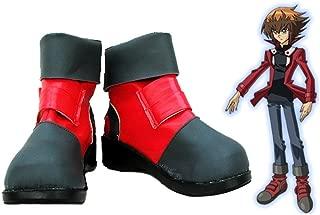 Telacos Yu-Gi-Oh! GX Jaden Yuki Cosplay Shoes Boots Custom Made