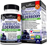 ADVANCED IMMUNE SUPPORT FORMULA: BioSchwartz Sambucus Elderberry contains Zinc and 133% Vitamin C, two crucial vitamins and minerals that can help boost immunity. When paired with Elderberry, these effects can be amplified and give you the protection...