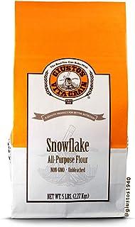 Giusto's Vita-Grain Snowflake Unbleached All-Natural All-Purpose Flour, 5lb Bag