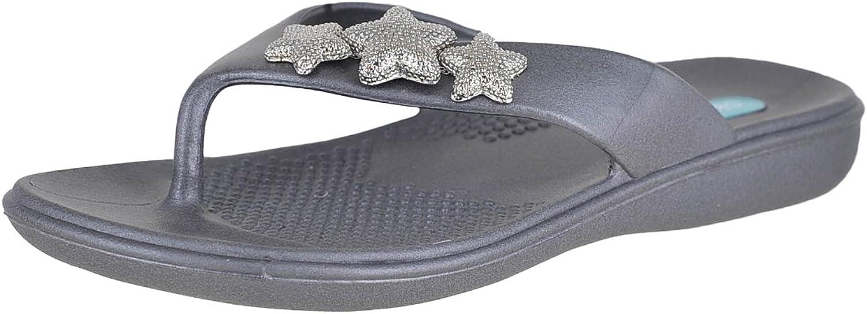 Oka-B Ariel Flip Flop Sandal by OkaB Sapphire