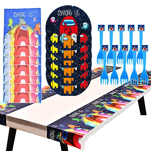 Among Us Birthday Party Supplies Set
