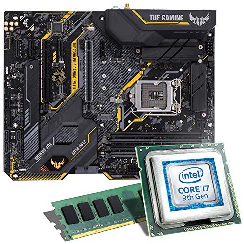 Intel Core i7-9700K / ASUS TUF Z390-PLUS Gaming WiFi Mainboard Bundle / 8GB | CSL PC Aufrüstkit | Intel Core i7-9700K 8X 3600 MHz, 8GB DDR4-RAM, Intel UHD Graphics 630, GigLAN, 7.1 Sound, USB 3.1