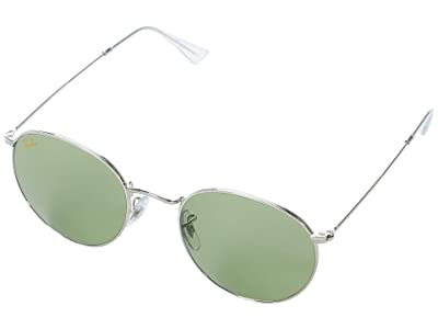 Ray-Ban 53 mm RB3447 Round Metal Sunglasses
