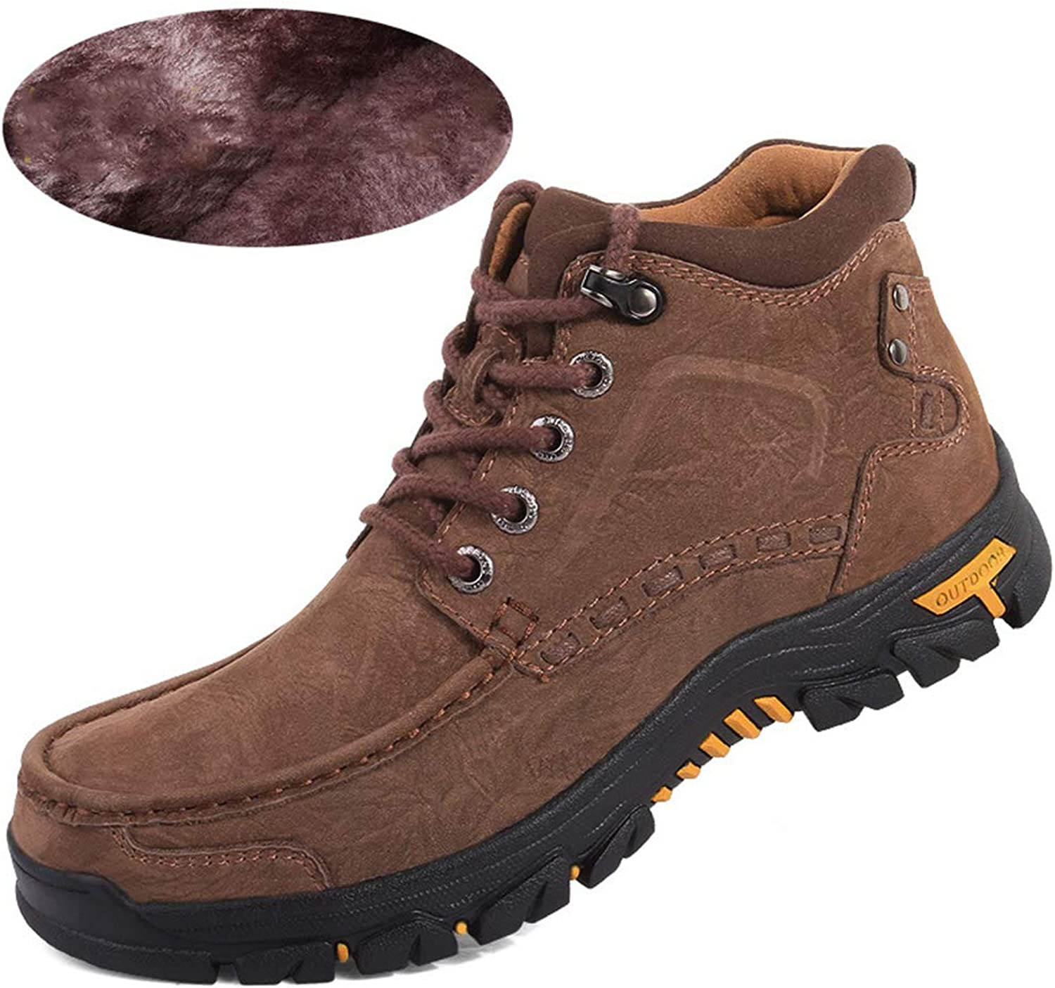 d96d40b4323f2 Phil Betty Mens Hiking Boots Lace Up Round-Toe Wear-Resistant ...
