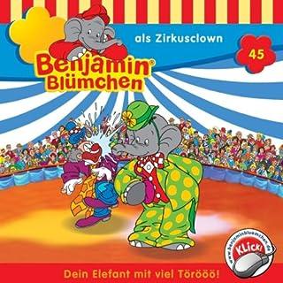 Benjamin als Zirkusclown audiobook cover art