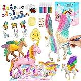MMTX Kits de Pintura de Unicornio para Niños Pintar Juego, Niños Unicornio Artes y Manualidades Creativo Juguete Cumpleaños Navidad Unicornio Regalo para