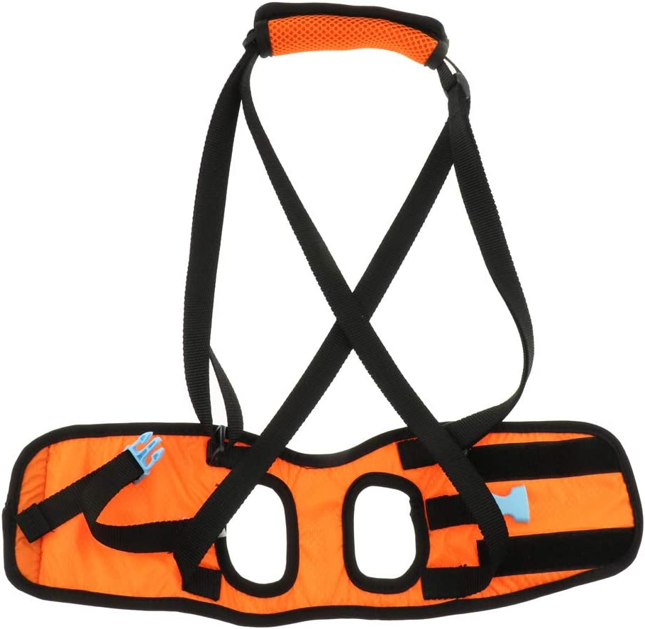 Pet Support Sling Help Weak Legs Up S-XL S perfk Dog Lift Harness for Back Legs