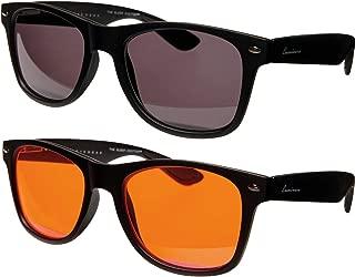 Luminere Blue Light Blocking Glasses 2 Pairs Premium Blue Blocker Blueblockers