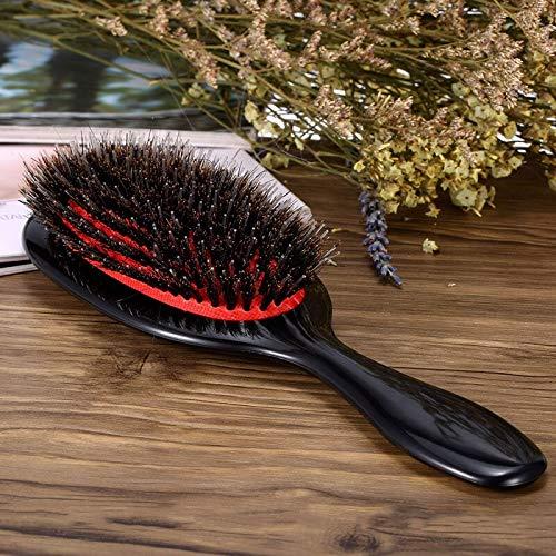 ZNXHNDSH Hnd Cepillo de Pelo Profesional de peluquería Suministros Cepillos Peine enredo Cepillo for el Pelo peina cerdas de jabalí Brush Herramientas del Pelo (Color : Abody Hair Brush)