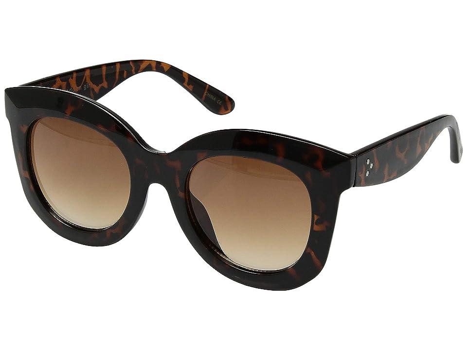 Steve Madden Madden Girl MG895116 (Tortoise) Fashion Sunglasses