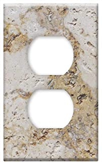 Switch Plate Outlet Cover - Background Stone Pattern Rock Wall Surface Rough
