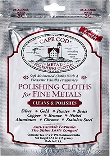 Cape Cod Polish Company - Polishing Cloth in Resealable Foil Pouch