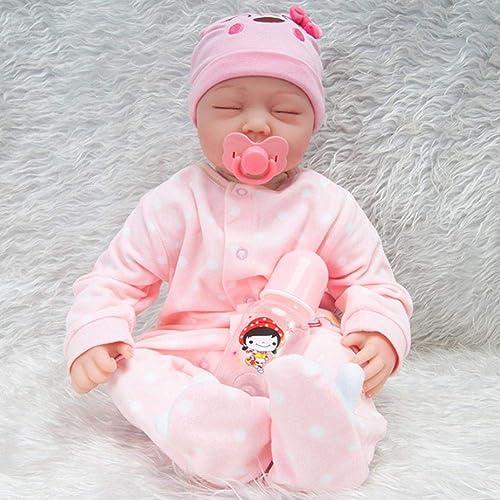 ofrecemos varias marcas famosas ZAY - muñec  lista para bebé de de de 45 cm, de algodón y plástico, para bebé, con Cuerpo de Silicona, para niñas y bebés, no Lavable, de la Marca Lifelike  despacho de tienda