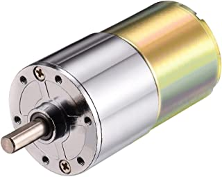 uxcell 12V DC 200RPM Gear Motor Micro Speed Reduction Geared Motor Centric Output Shaft