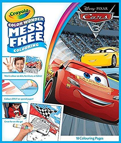 CRAYOLA Disney Pixar Cars 3 Color Wonder
