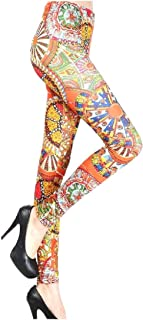 Women's Navajo Floral Yoga Pants Stretch Under $10 Leggings