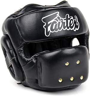 Fairtex HG14 Full Face Headguard Headgear Helmet Boxing Head Guard Thai Boxing K-1 MMA Head Gear Guard Protective Muay Thai