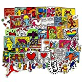 50Pcs Keith Haring Graffiti Art Stickers for...