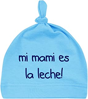 ClickInk Gorro bebé Unisex Mi Mami es la Leche! Gorro reci