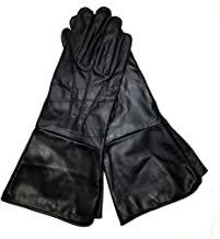leather gauntlet gloves renaissance