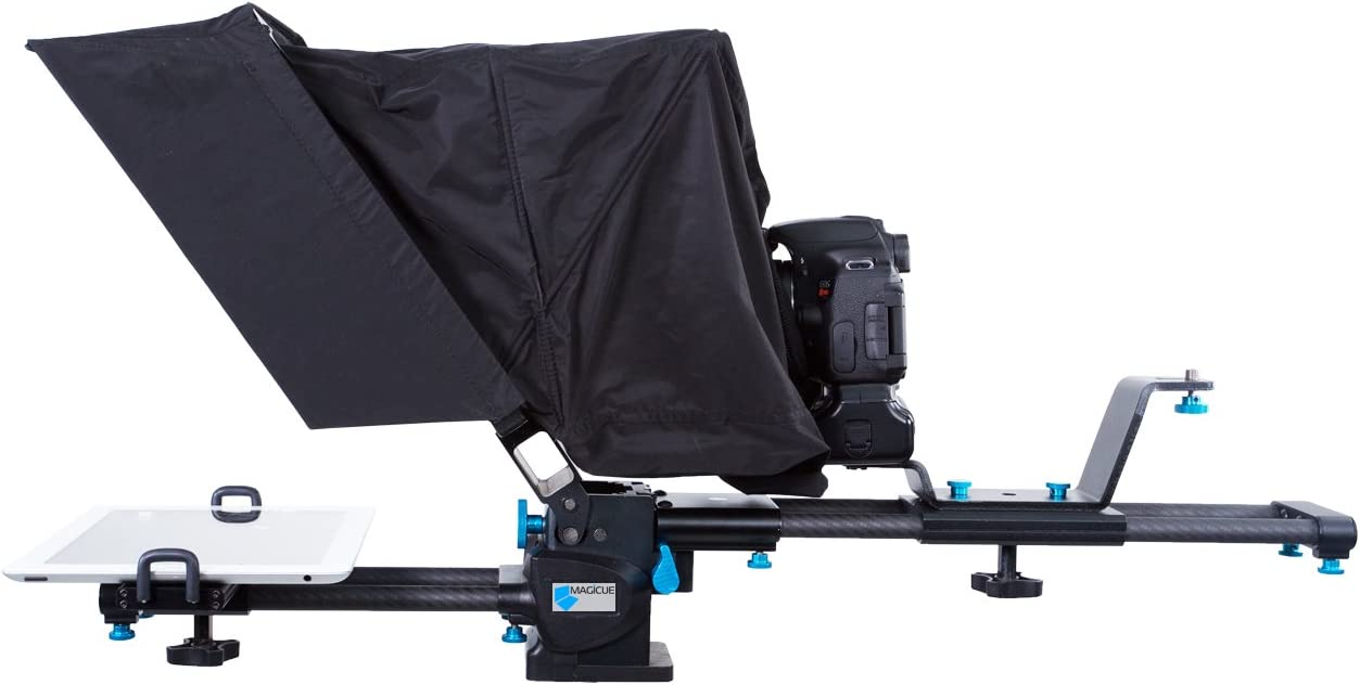 Magicue MAQ-Mob-TS Mobile Teleprompter Black Popularity Chicago Mall System