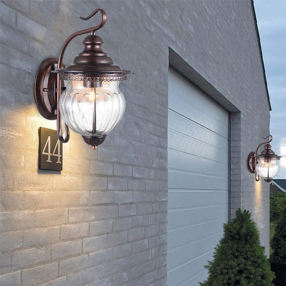 Maxax Outdoor Wall New sale arrival Light Set of 2 wit Fixture Exterior Lamp
