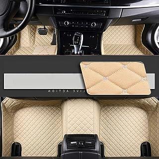 Impermeables 3D Ajuste Individual Piel sint/ética Antideslizantes Alfombrillas para Porsche Cayenne 2003-2010 Myllon Todas Las Condiciones meteorol/ógicas