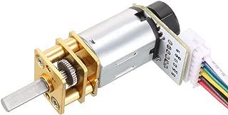 uxcell GA12-N20 3V 50RPM DC Gear Motor with Encoder Speed Velocity Measurement for Mini Car Balance Motor Encoder DIY
