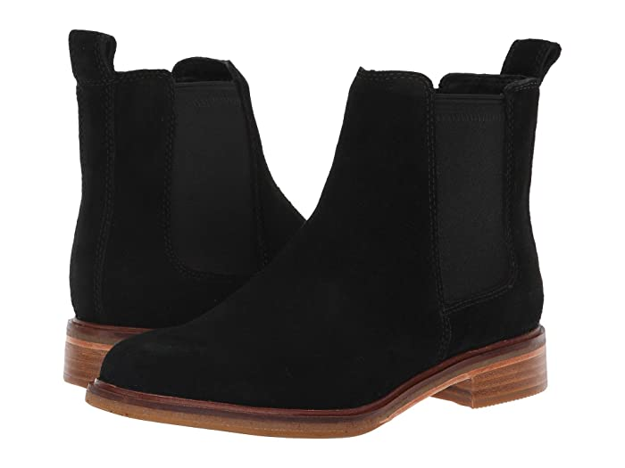 Clarks  Clarkdale Arlo (Black Suede) Womens  Shoes