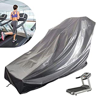 Kinbelle Waterproof Treadmill Cover for Outside Storage, Sports Running Machine Protective Folding Cover Dustproof Waterproof Cover, for Outside Rain & Sunshine Resistance