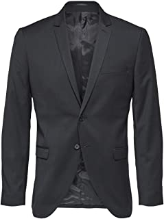Selected Men's Slhslim-mylobill Black BLZ B Noos Blazer