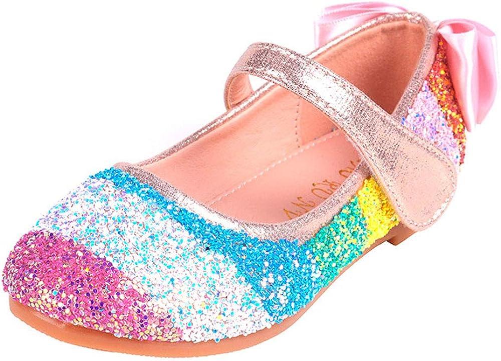 Discount mail order YYFURR Girls Toddler Princess Sparkling It is very popular Sequins Glitter Rainbow