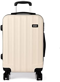 94843d6b1 Kono 24 Inch Hard Shell Luggage Lightweight ABS 4 Wheels Spinner Business  Trip Trolley Case Suitcase