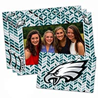 "Worthy Promo NFL Philadelphia Eagles Magnetic Frame & Bonus Magnet, 3 Pack, Blue, 4"" by 6"", 3 Pack"