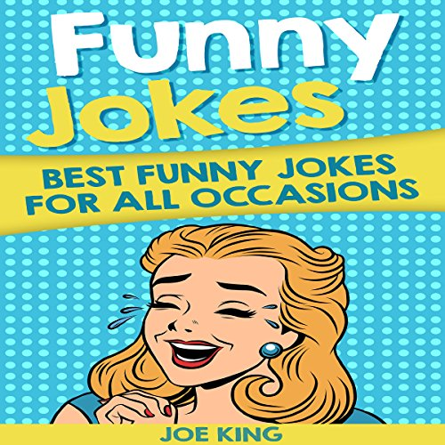 Funny Jokes audiobook cover art