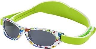 5423350e3c Kiddus Gafas de sol bebés niños y niñas, edad 0 meses a 2 años CINTA