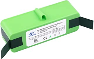 MELASTA 14.8V 5200mAh Lithium ion Battery Replacement for Roomba 980 690 960 985 695 680 685 652 665 670 655 650 770 801 8...