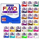 Fimo Soft Starter Pack 12 x 56g Multicolour Blocks by Steadtler