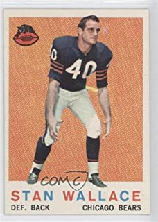 Stan Wallace (Football Card) 1959 Topps - [Base] #159