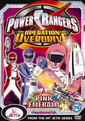 Power Rangers Operation Overdrive Volume 5 [Reino Unido] [DVD]