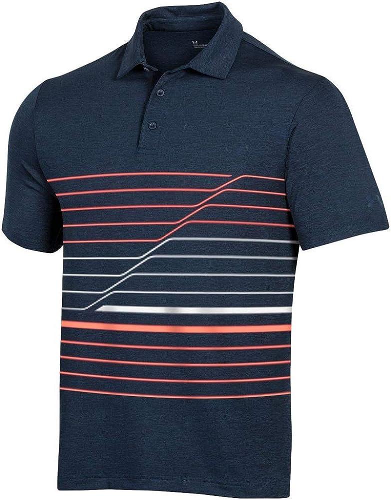 Under Armour New Mens Playoff Incline Polo 保障 日本メーカー新品 - 2.0 Cho Stripe Golf