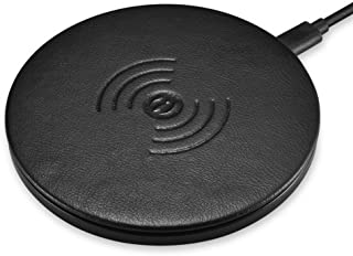 Fast Wireless Charger,ICARER Ultra Slim Quick Charging Pad 10W for Galaxy Note 8/ S8/ S8+/ S7/ S7 Edge/ S6 Edge Plus and Note 5,5W Standard Charge for iPhone X/iPhone 8 iPhone 8 Plus - Black