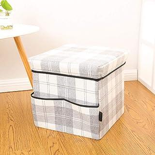 MJY Panier à linge Plaid Minimalist Square Panier à linge Design de mode Épais grande capacité Sac de rangement pliable Du...