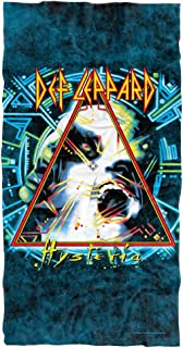 """Trevco Def Leppard Hysteria Cover Officially Licensed Beach Towel 30"""" X 60"""""""