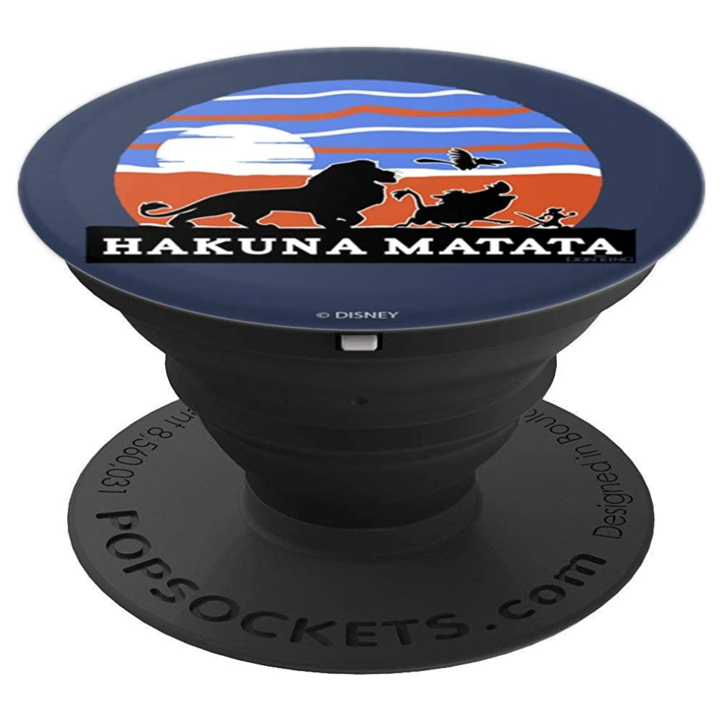 Disney The Lion King Simba Zazu Timon Pumbaa Hakuna Matata - PopSockets Grip and Stand for Phones and Tablets
