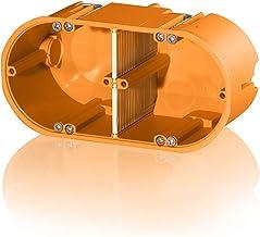 f-tronic Holle wand-gereedschapsdoos massief, 2-voudig, 60mm diep, HW20, inhoud: 10, stuks